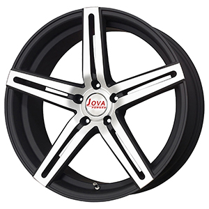 black machine rims