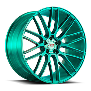 dark green rims
