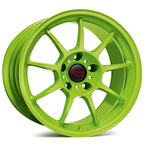 green rims for cars