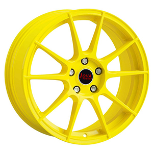 yellow forged rims