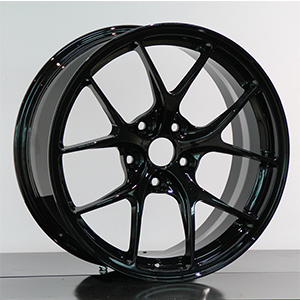 bright black wheel
