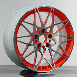 white and red rims