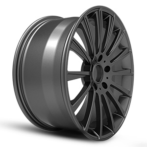 aftermarket truck wheels all black