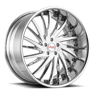 staggered alloy wheels