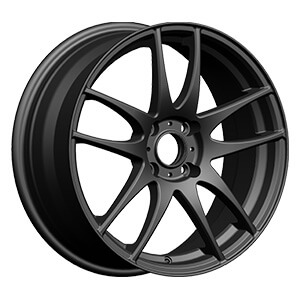 4 hole black rims