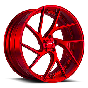 red sport wheels