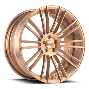 rose gold rims