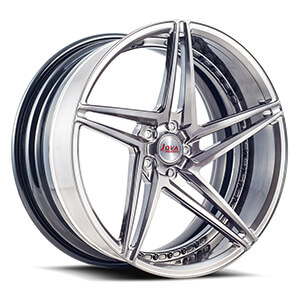 black and silver 22 inch rims