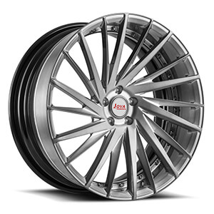 Forged alloy car wheels
