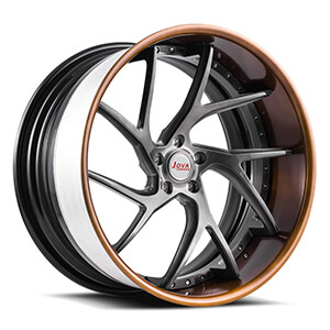 5 spoke aluminum wheels