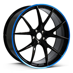 bmw m3 rims black