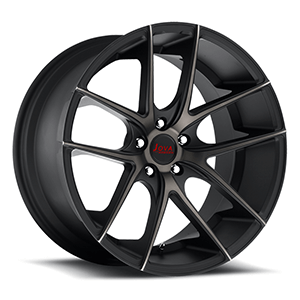 staggered concave rims