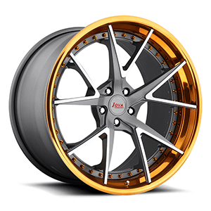 forged wheels with rivets