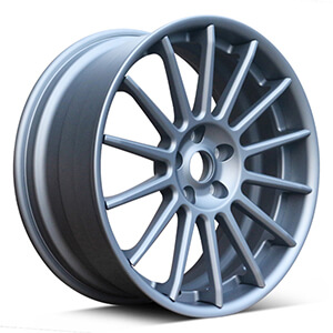 grey rims for cars