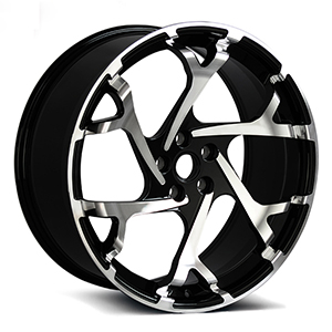 deep concave staggered wheels