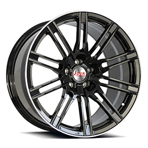 custom black aluminum rims
