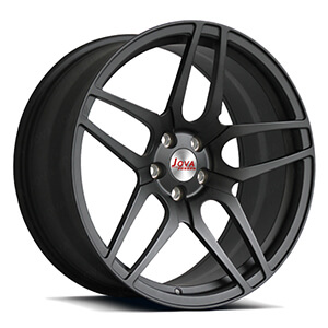 matter black deep concave rims