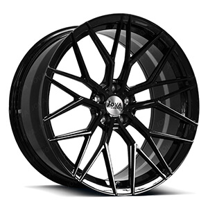 black rims for sports cars