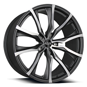 grey machined rims