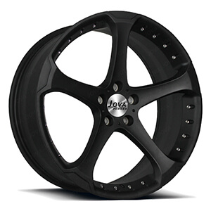 matte black racing rims
