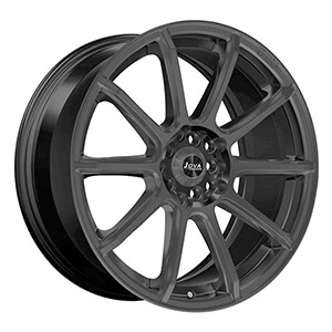 black automotive wheels
