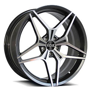 5 spoke machined rims