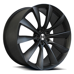 matte black racing wheels