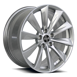 forged wheels silver