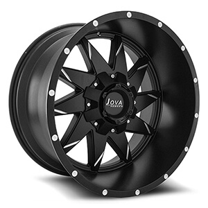 black aftermarket truck wheels