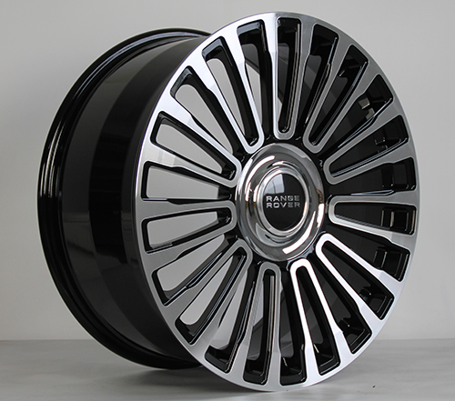 multi spoke rims for Land Rover