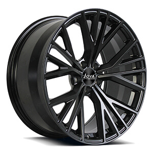 black audi wheels
