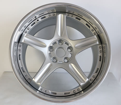 5 spoke deep dish rims