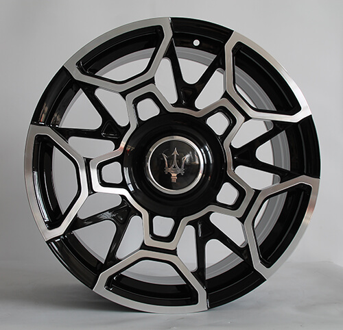 black cadillac rims