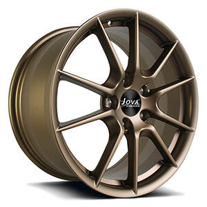 bronze mustang wheels