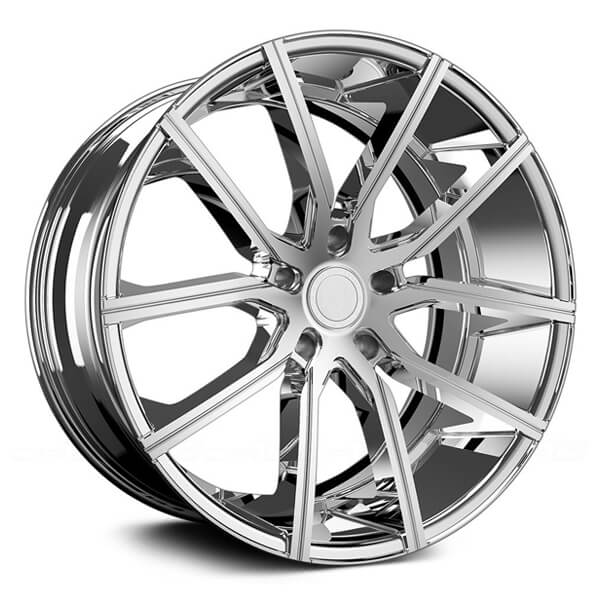 cadillac chrome wheels