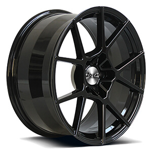 black forged rims
