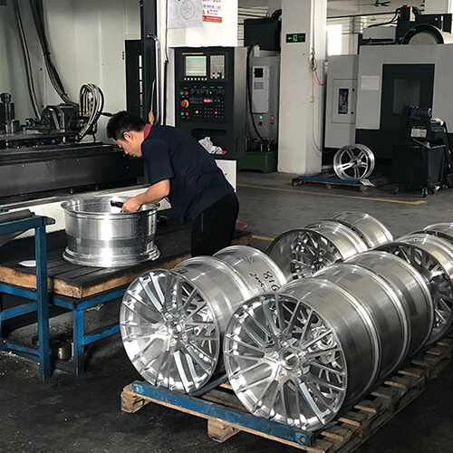 custom forged wheels China