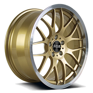 Deep lip wheels bronze