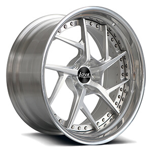 polished aluminum wheels