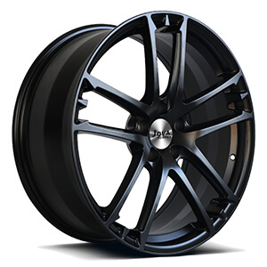 tesla black rims
