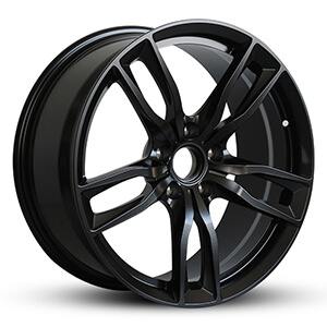 black dodge rims