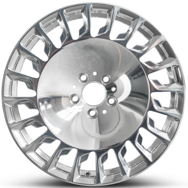 chrome mustang wheels
