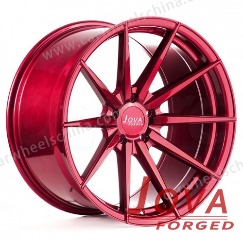 Red car wheels and rims for offroad aftermarket