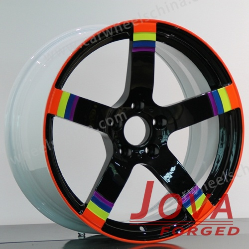 Colorful Performance Car Wheel Tires