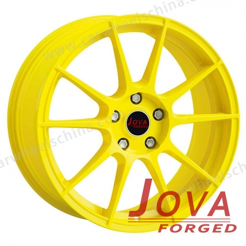 Car Rims whole yellow Customized 17 inch