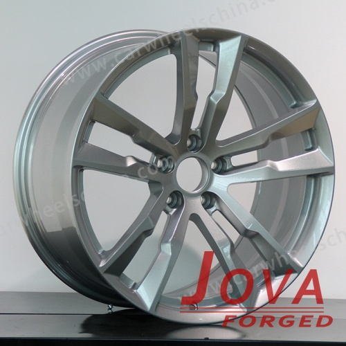 Aluminum alloy wheels sliver forged 5 spokes