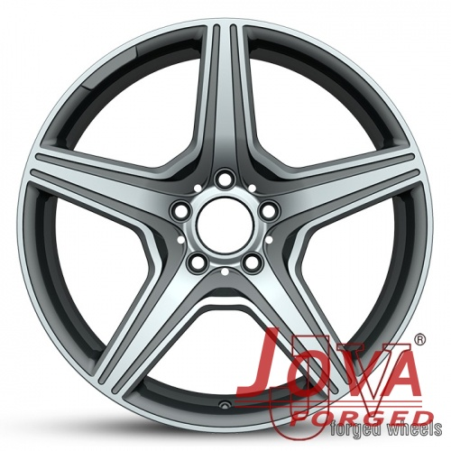 Black forged rims 20 inch 5 lug aftermarket