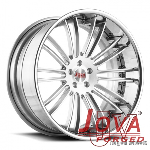 the forged deep lip depth wheels on car