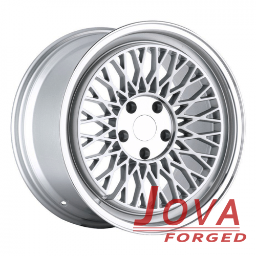 OEM audi wheels staggered silver deep dish rims