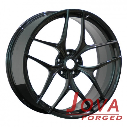 Gloss black concave mercedes wheels ml350 style staggered